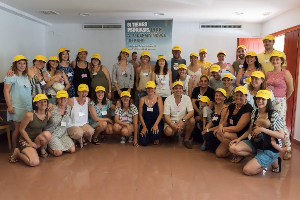 participantes en aclaralapsoriasis en valencia