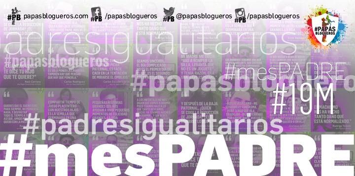 cartel del #mesPADRE