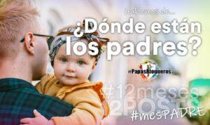Cartelería de la campaña MesPadre